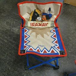 1 Yakari Siège Pliante Chaise Enfants Fauteuil de Jardin