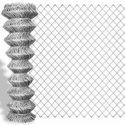 Grillage galvanisé en rouleaux à mailles carrées Clôture