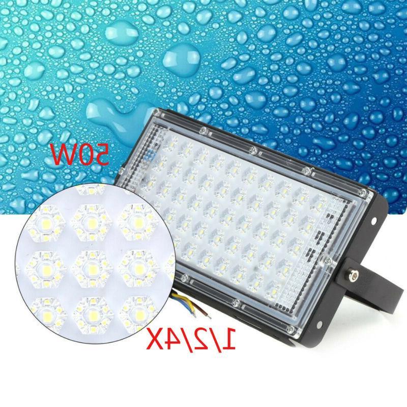 1 2 4x 50w led lampe projecteur